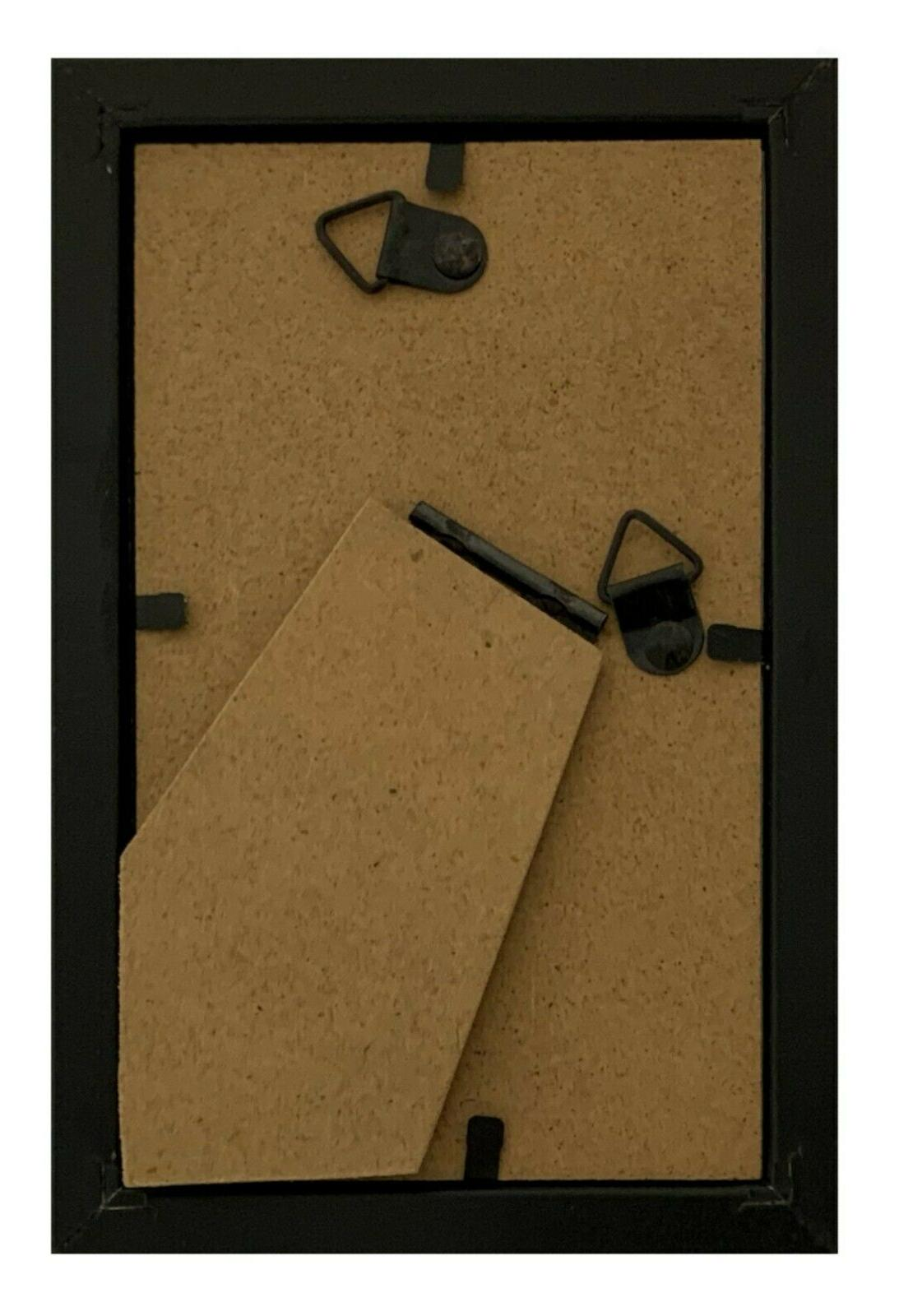 Frame Amo Black Wood Picture Front, Wall 1,