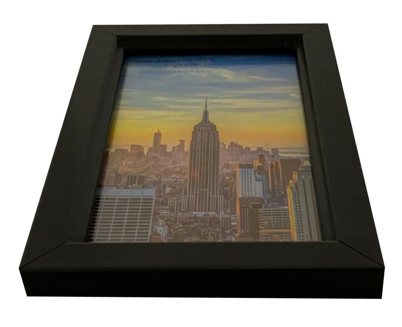 Wood Picture Frame, Front, 1, 3, 10