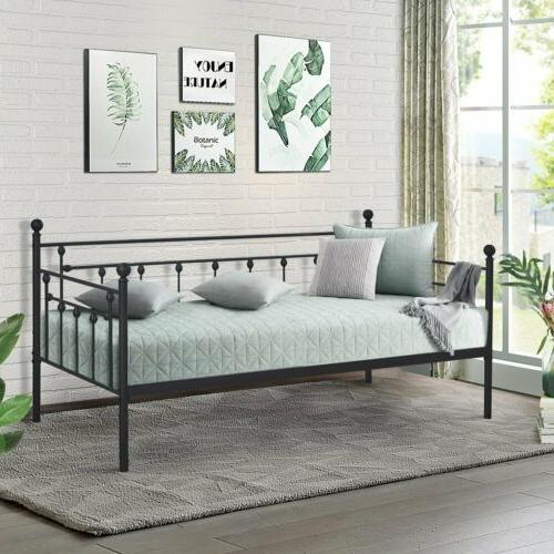 Victoria Metal Daybed Metal Sofa Bed Frame Multifunction wit