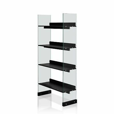 Furniture Modern Black 4-tier