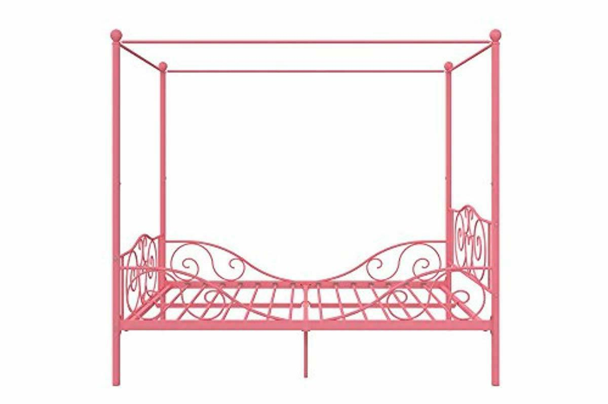 DHP with Sturdy Bed Frame, Pink, Full