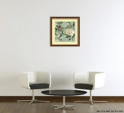 """Framed 'Birds by Renee Campbell: Outer Size x 29"""""""