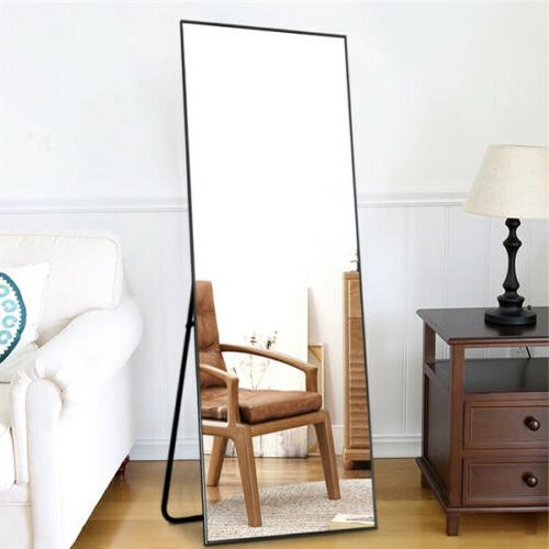 Full Floor Leaning Mounted Large Mirrors