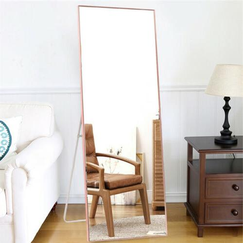 Full Length Leaning Wall Mounted Frame Large Mirrors Living Bedroom