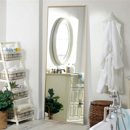 Full Length Floor Mirror Leaning Wall Large