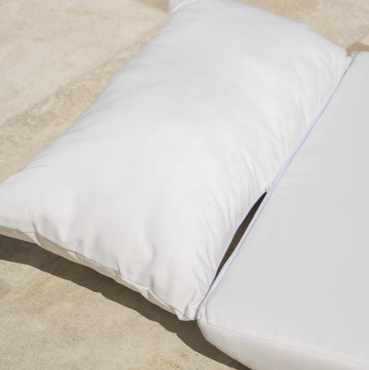 Grey Outdoor Bed Cushions Christopher Lounge