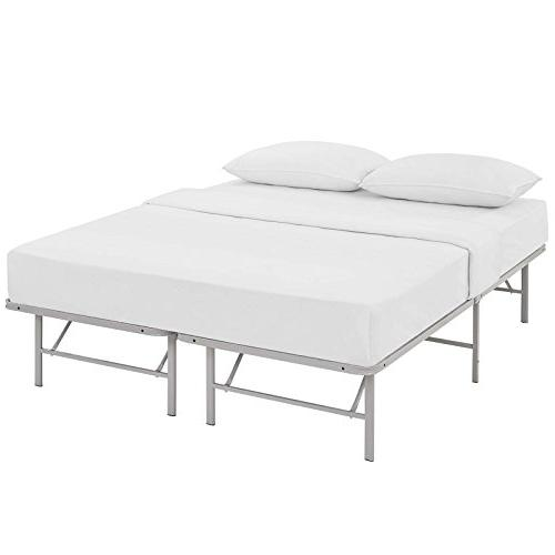 Modway Frame In Replaces Spring Folding Metal Bed With Storage - - Heavy
