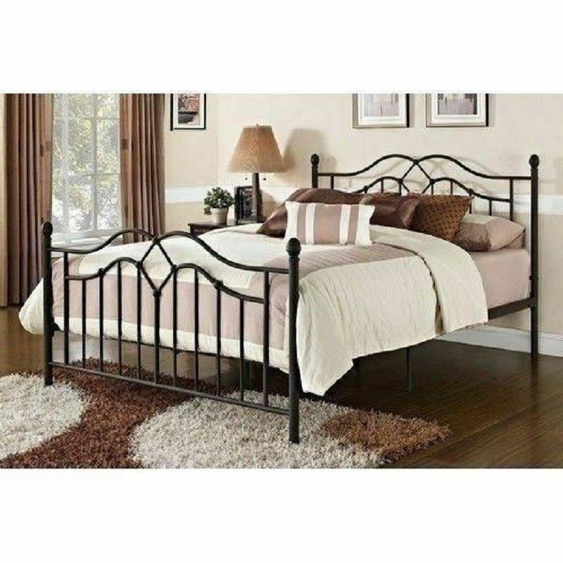 King Size Bed Frame Country Cottage Modern Farmhouse Victori