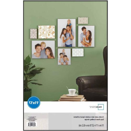 "New 11"" x Format Picture Frame Hanging Decor Display,"