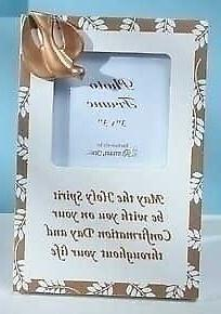 """Roman Pack of 6 Religious Gold Confirmation 3""""x3"""" Photo Fram"""