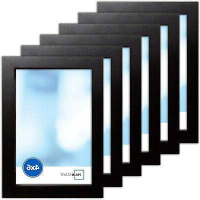 Photo Frame Of 6 Format Wall Black Picture