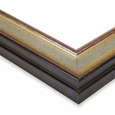 "ArtToFrames Poster Frame Silver 1.25"" Wide Wood 4565"