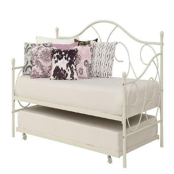 Universal Daybed Trundle Metal Frame Away Pull Out Bed