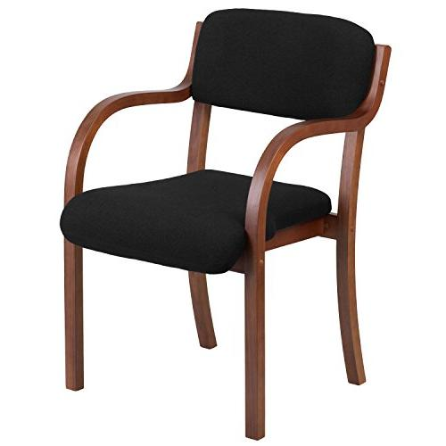 wood side guest chair