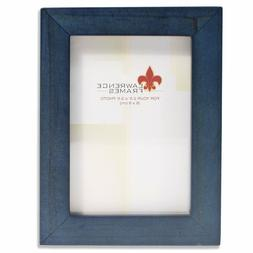 Lawrence 2-1/2 x 3-1/2 Wood Picture Frames Blue
