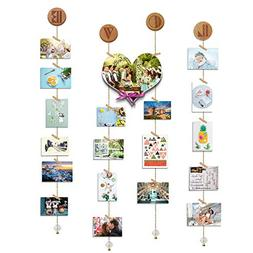 O-KIS Love Photo Display, Picture Frame Collage Set Includes