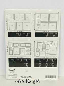 IKEA Matteby Wall Template For Hanging Picture Frame Collage