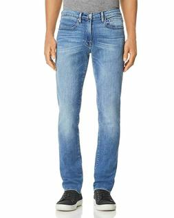FRAME Men's L'Homme Slim Fit Jeans Bradbury Blue Denim Size