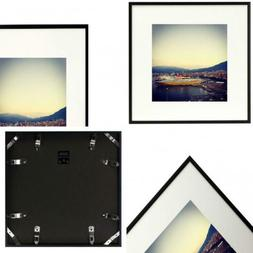 Golden State Art Metal Wall Photo Frame Collection, 12x12 Al