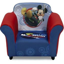 Disney Mickey Mouse Kids Upholstered Chair Sculpted Plastic