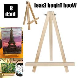 Mini 9'' Wood Easel A-Frame Artist Photo Painting Tabletop P