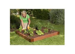 NEW! Frame It All 4ft x 4ft Foot Easy Outdoor Box Planter Ra