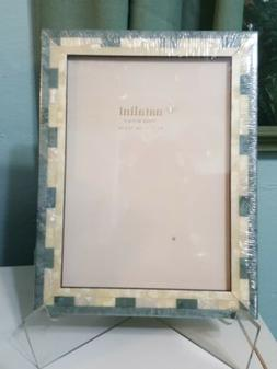 NEW NATALINI PICTURE FRAME WOOD Green Pearl PHOTO Picture TA