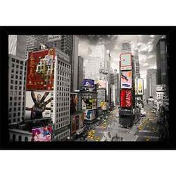 New York Times Square With Choice of Frame   Large