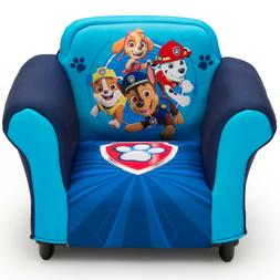 Nick Jr. PAW Patrol Kids Upholstered Chair with Sculpted Pla