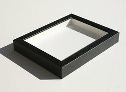Shadowbox Gallery Wood Frames - Black, 6 x 6