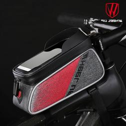 Phone Holder Waterproof Cycling Bicycle Front Frame Top Tube