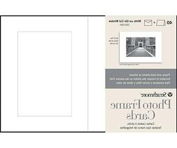 Strathmore Photo Frame Cards - 5 in x 6.9 in  - 40 Card/Pack