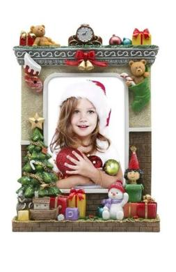 """Photo Frame Fine Photo Gifts 5"""" x 7"""" Light Up Christmas Pict"""