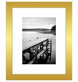 Americanflat Picture Frame in Gold Wood for Wall and Tableto