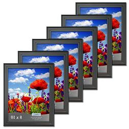 Icona Bay 8x10 Picture Frames  Bulk Set, Wall Mount or Table