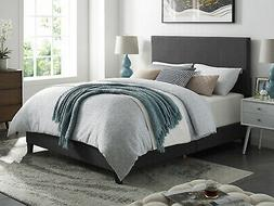 Queen King Size Platform Bed Frame And Headboard Furniture L