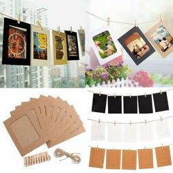 Rope Party Supplies DIY Craft Photo Frame Wall Hanging Pictu