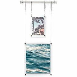 - Sculptural Frames & Holders Picture Display, Set Of Two Ha