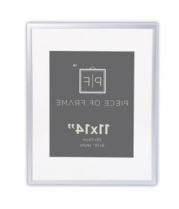 Set of 12-11x14 Aluminum Silver Photo Frame for 8x10 Picture