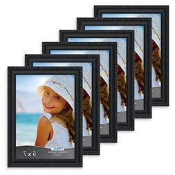 Set of 6 Picture Frame Set, Wall Mount or Table Top Inspirat