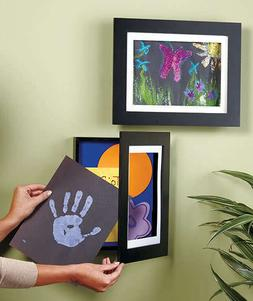 SHADOW BOX EASY CHANGE ART WORK WALL FRAME PICTURE PHOTO Dis