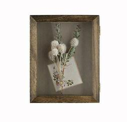 Shadow Box Frame Display Case With Linen Back~8x10~Magnetic