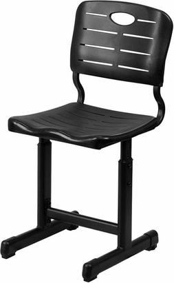 Small computer chair adjustable height student work with ped