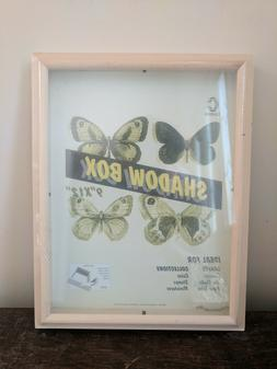 Unfinished Wood Shadow Box Display Case Picture Frame 9 x 12