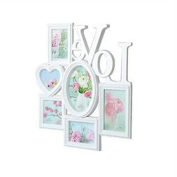 Valentine's Day 6-Opening Picture Frame Collage for Wall and