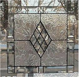 """Victorian Bevel Frame Kit 17"""" an easy Stained Glass project"""