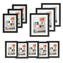 11 Pcs Photo Frame Set Picture Display Wall Hanging Modern A