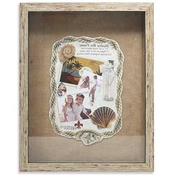 Lawrence Frames Weathered Front Hinged Shadow Box Frame with