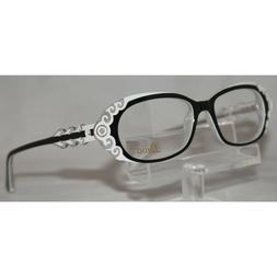 Diva Women's Eyeglasses 5398 744 Black & White Optical Frame