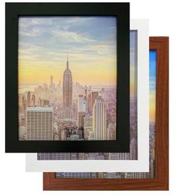 Frame Amo Wood Picture Frames or Poster Frames, 1 inch Wide
